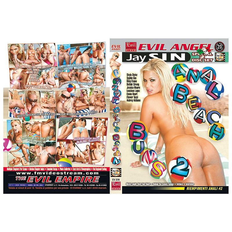 Anal Beach Buns 2 Special DVD by Evil